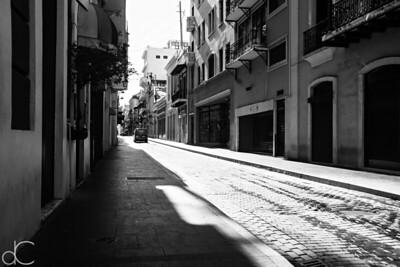 Calle Fortaleza, Old San Juan, Puerto Rico, June 2019.
