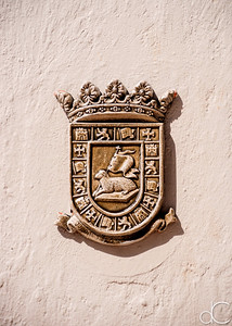 Puerto Rico Coat of Arms, Old San Juan, Puerto Rico, June 2019