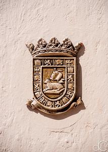 Puerto Rico Coat of Arms, Old San Juan, Puerto Rico, June 2019