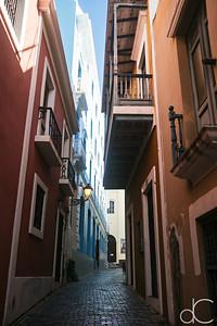 Callejon de la Capilla, Old San Juan, Puerto Rico, June 2019.