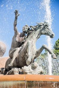 Raices Fountain, Old San Juan, Puerto Rico, June 2019.