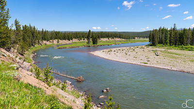 The Snake River, Yellowstone National Park, June 2015.