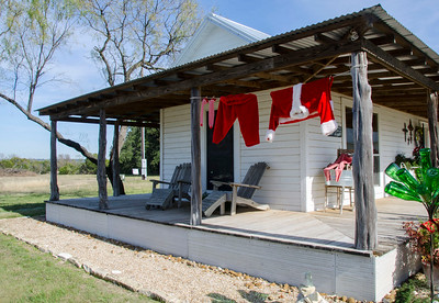 Christmas Tour of Homes thru the Texan Country-side