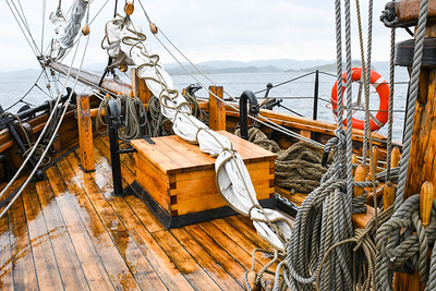 Setting sail onboard the Restauration out of Stavanger