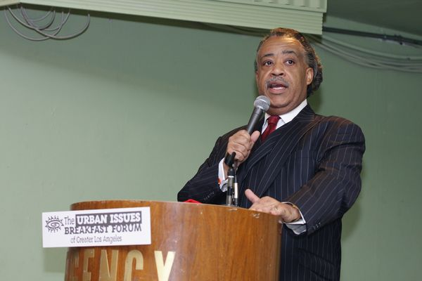Rev.Al Sharpton Speaks at the Urban Issues Breakfast Forum of Los Angeles