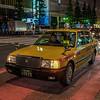 Taxi, Tokyo, Japan