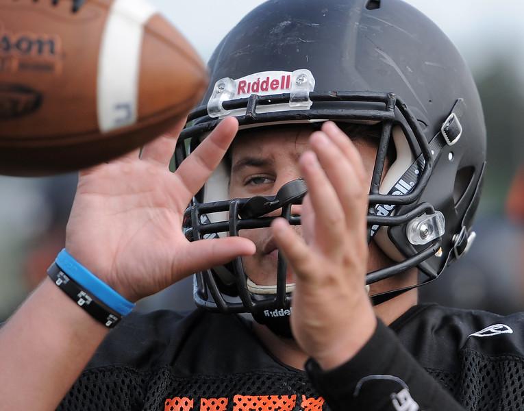 The Utica High School football team gets ready for the 2017 season. THE MACOMB DAILY PHOTO GALLERY BY DAVID DALTON