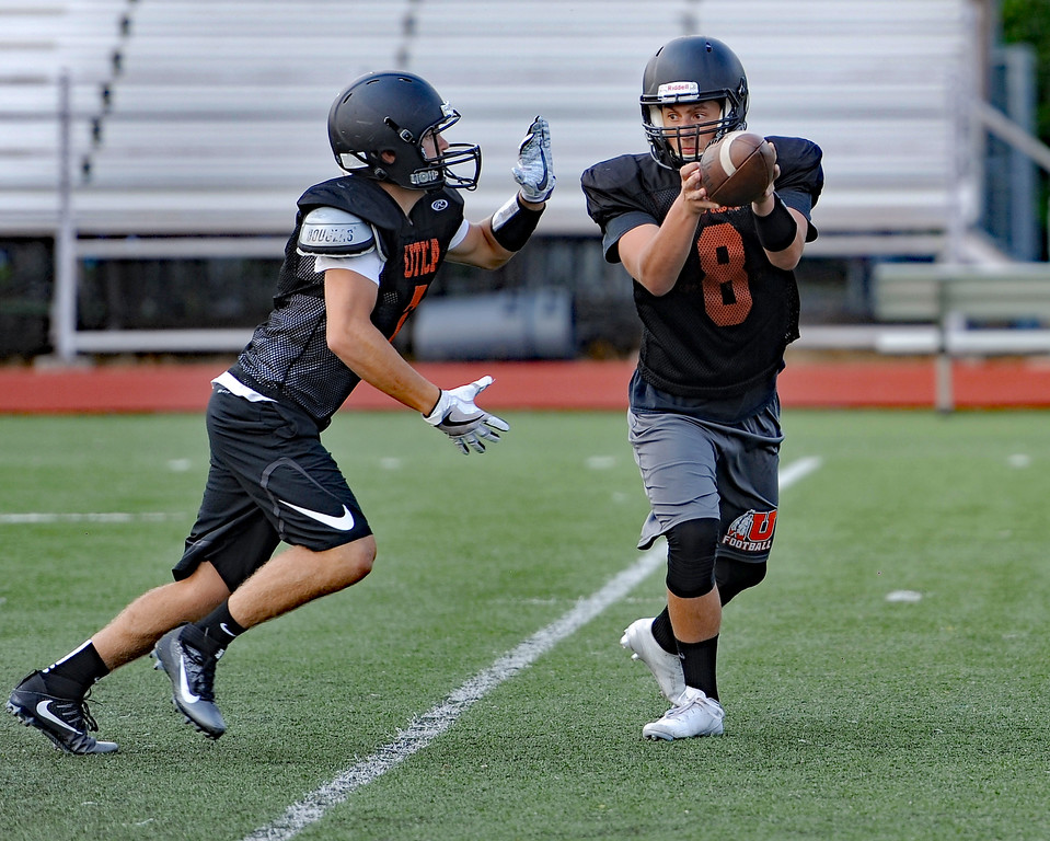 . The Utica High School football team gets ready for the 2017 season. THE MACOMB DAILY PHOTO GALLERY BY DAVID DALTON