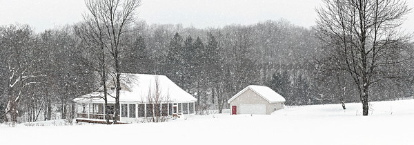 Michigan House Winter