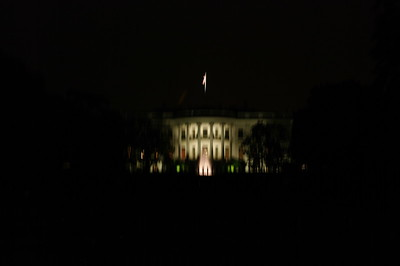 The White House @ Night