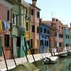 The colorful homes of Burano.