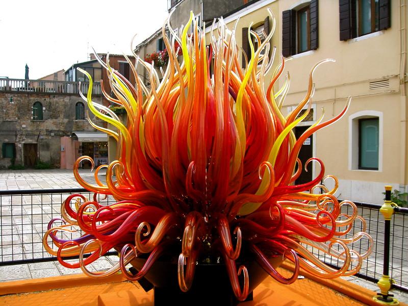 Sculpture of Murano glass.