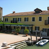 One of the few restaurants on the largely undeveloped island of Torcello -- the first island to be settled in the Venetian lagoon.