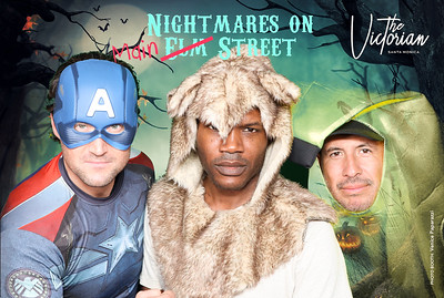 Nighmare on Main Street at The Victorian.  @TheVictorianSM. Photo booth by @VenicePaparazzi
