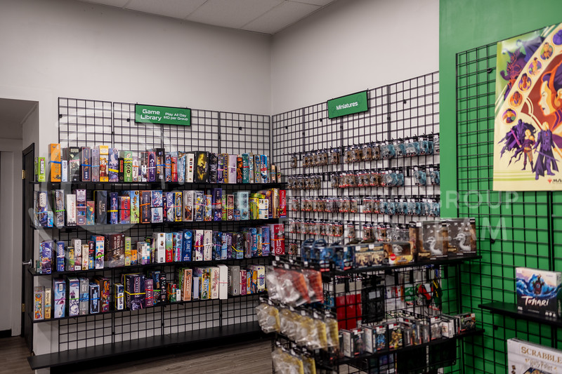 The Village Geek, a tabletop gaming store located at 105 N 3rd St, Manhattan, KS 66502. Saturday, September 19, 2020. (Dylan Connell | Collegian Media Group)
