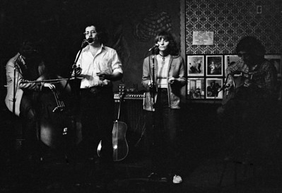 Tom Intondi with Nancy Lee Baxter and Frank Christian Folk City NYC 1979