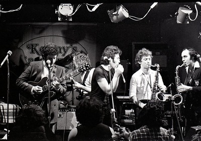 Jon Paris Band Kenny's Castaways about 1980