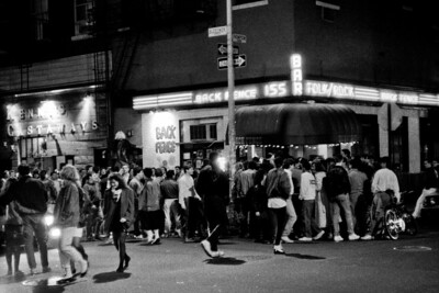 Bleecker and Thompson Streets about 1980