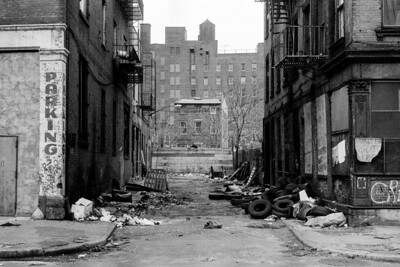 East Village Alley About 1980