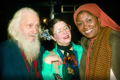 Maurice, Odetta and Raun MacKinnon