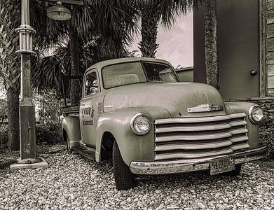 Cody's Restauran chevy truck