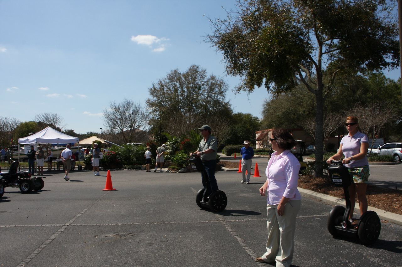 Ron on a Segway!