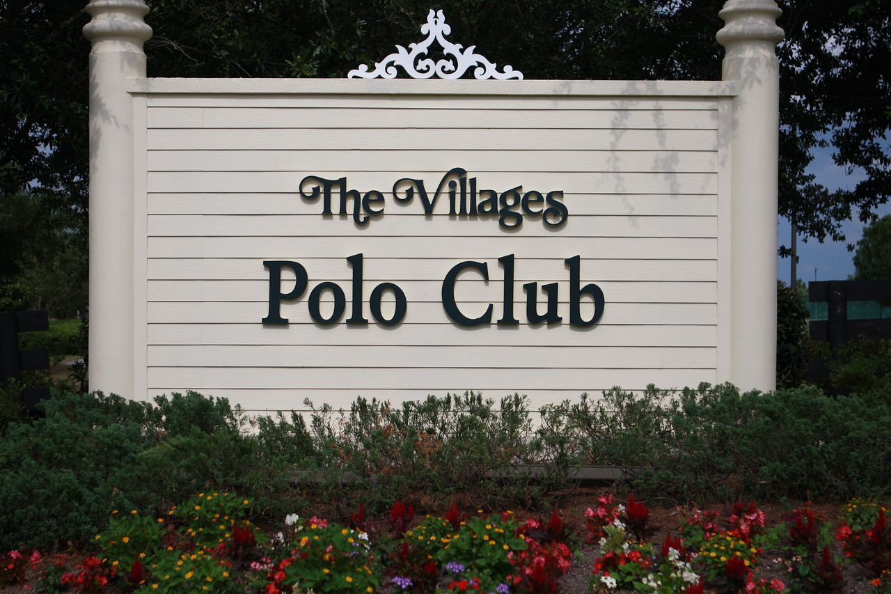 Villages private Polo Club, hosts events from all over the United States.