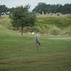 Sandhill crane on the golf course.