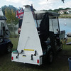 Modify & adapt your golf cart to transport your remote control sailboat to the lake.