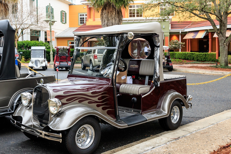 Street Rod Golf Cart Club of The Villages, Kid's Inc., Charity Cruise-In March 6, 2015