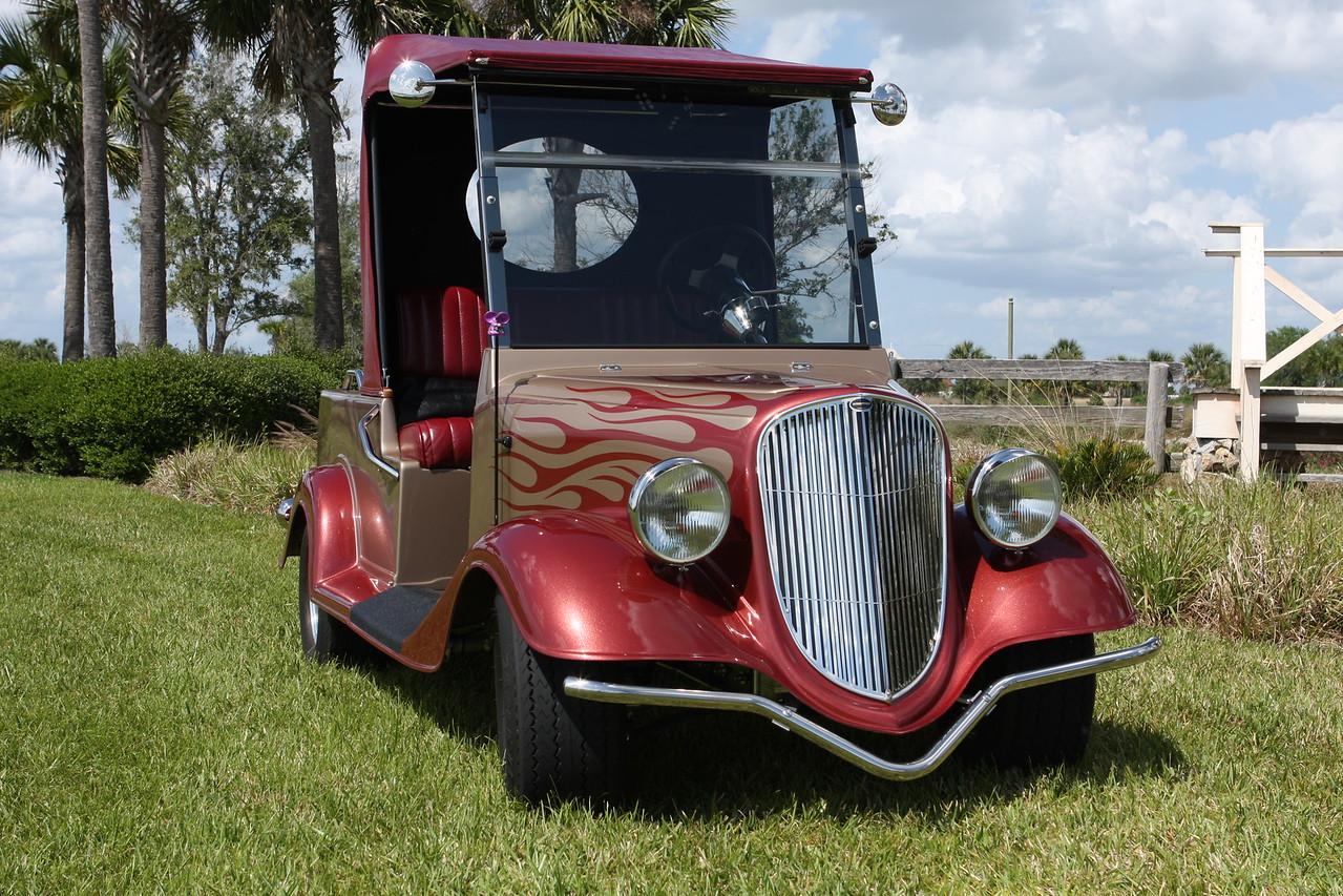 34 Ford Streetrod golfcart, custom built by Streetrod Productions in Iowa.
