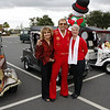 Pauline, Joe & Lynda ready for a Elvis Christmas