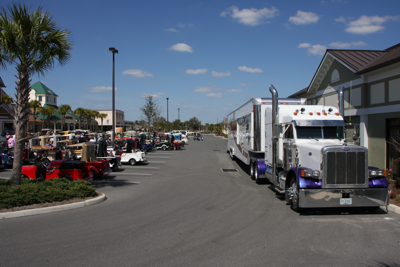 Streetrod Productions private semi and those gathering for appreciation day