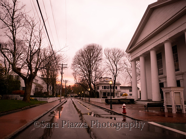 Edgartown news, sunset, old whaling church, jon, ethan, zeke, state beach, clouds, blossoms