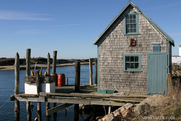Fisherman's shack, Menemsha.