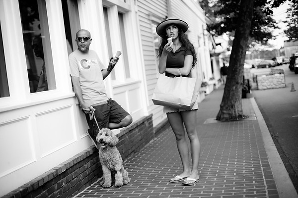 Edgartown, street photography, Black and White, faces, people