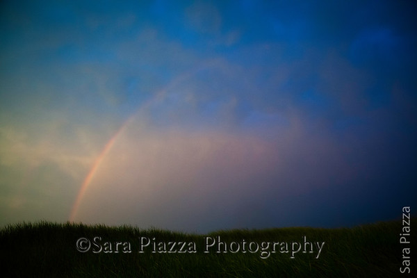 Rainbow, sunset, fourth of july, edgartown