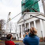 Raising of the New Steeple, November 30, 2015