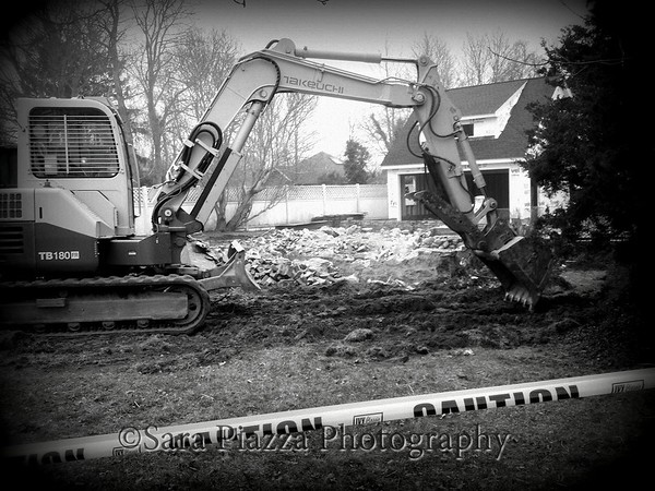 Defrates House demolition