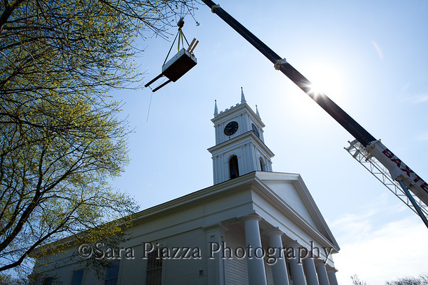 Edgartown town clock bell