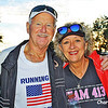 This veteran and his wife ran in the Virginia 10 Miler.