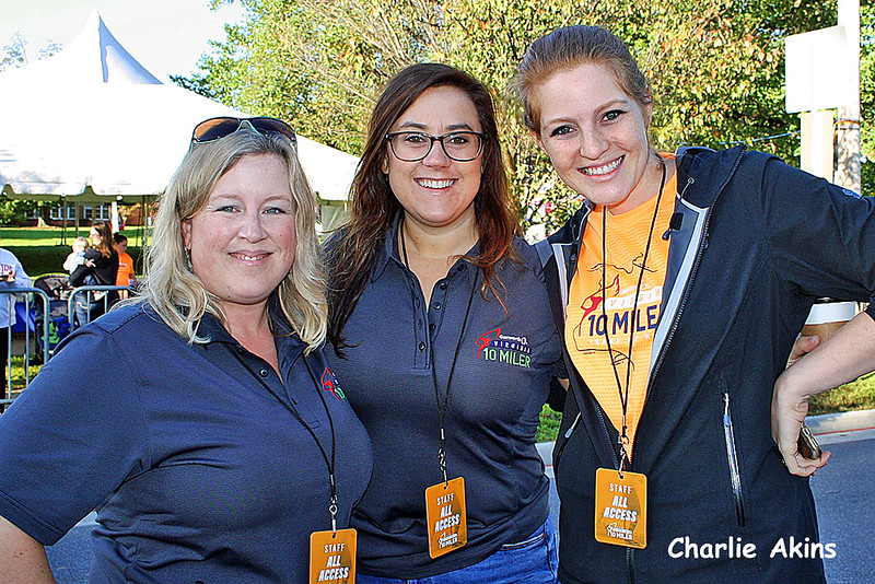 These ladies worked security at the event.