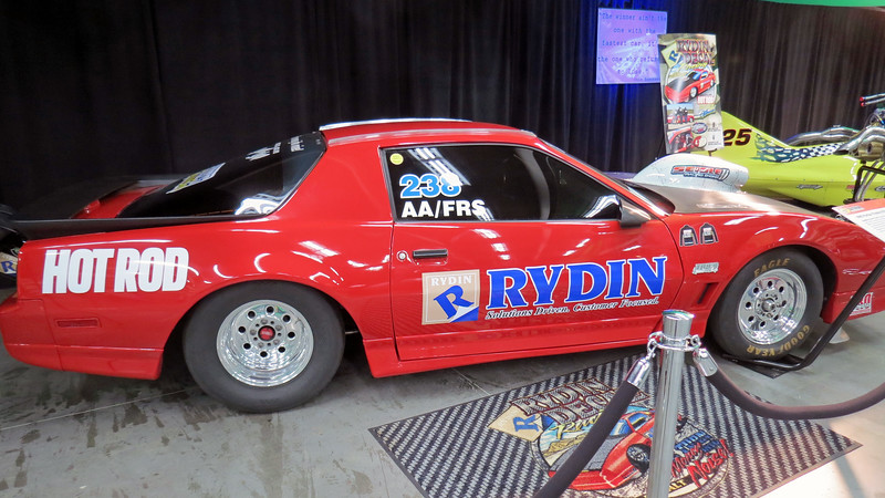 Rydin Racing's 1985 Pontiac Trans Am GTA 'Lucy.'