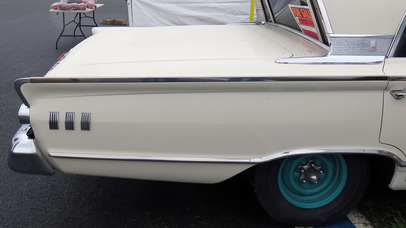 1963 Mercury Monterey with a huge trunk !