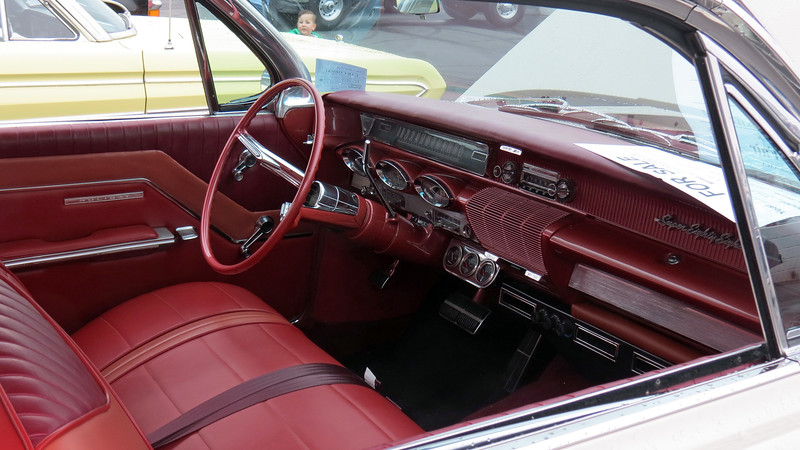 1961 Oldsmobile Super 88 Holiday hardtop coupe, asking $42,500.