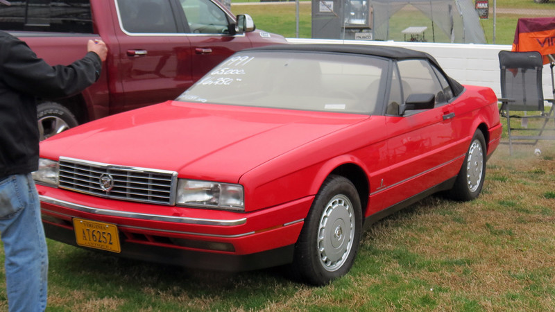 Cadillac only made 2,500 Allantes in 1991 making this car quite rare.  I'd own it for that price !