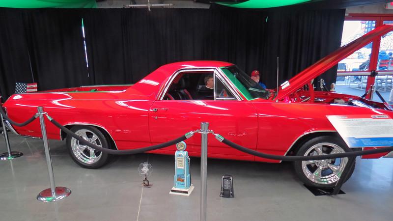 A show-winning 1968 Chevrolet El Camino.