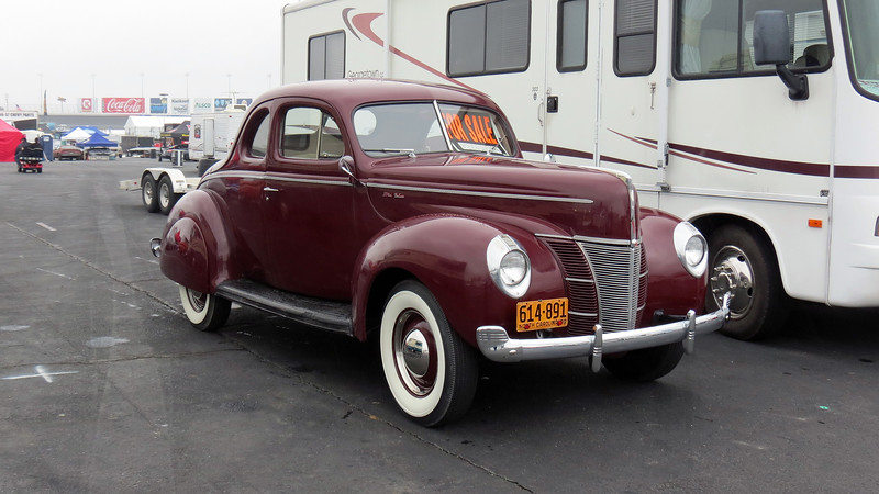 1940 Ford Deluxe coupe, asking $29,500.