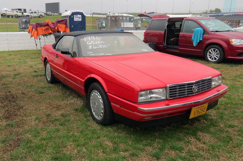 1991 Cadillac Allante, 65k original miles, asking $6,250.