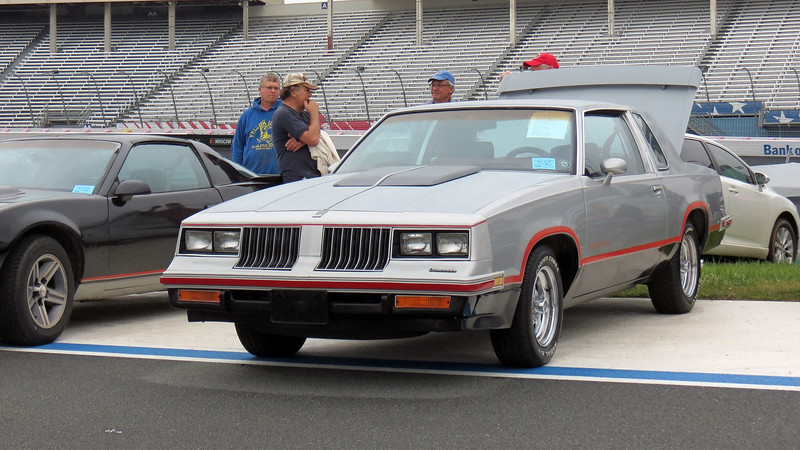 "1984 Oldsmobile Hurst/Olds.  This car is the same as the 1985 442 I had years ago with the exception of the shifter.  Hurst cars had the famous ""Lightning Rods."""